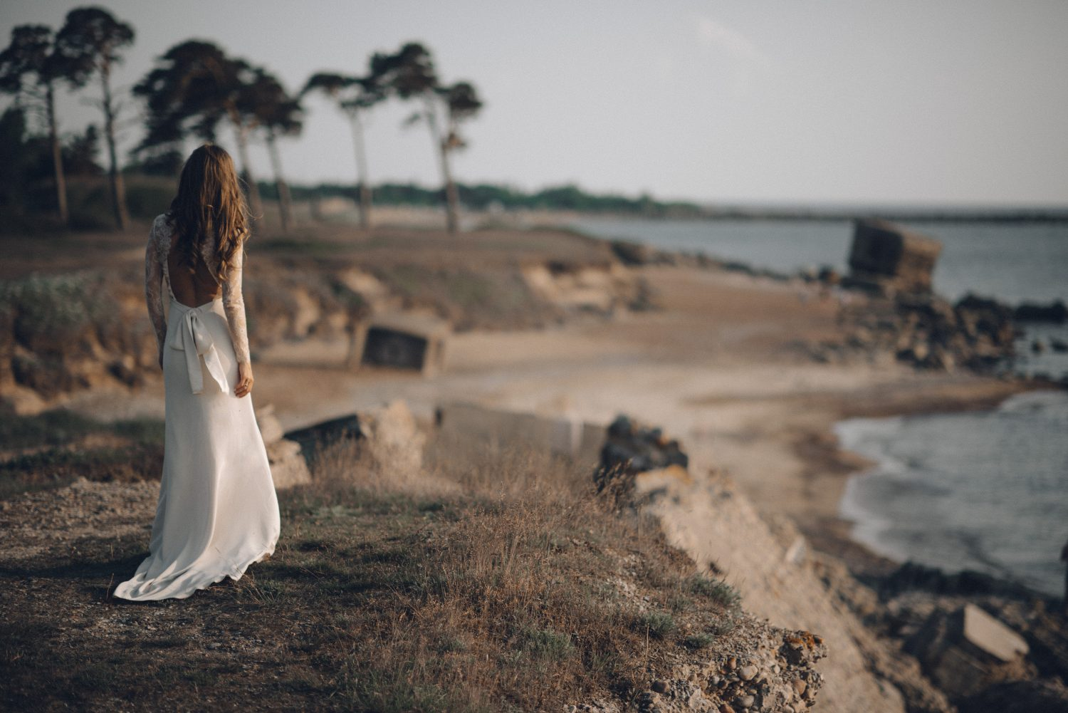 Seaside bride