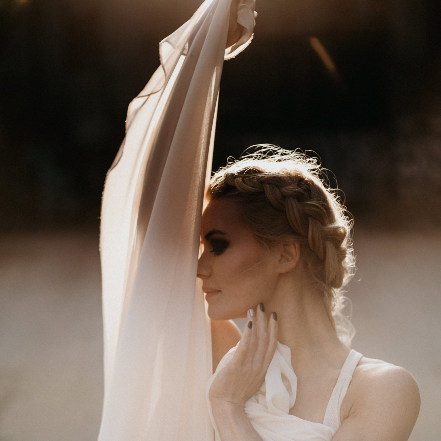 Contemporary dance photoshoot outdoors by Liene Grava