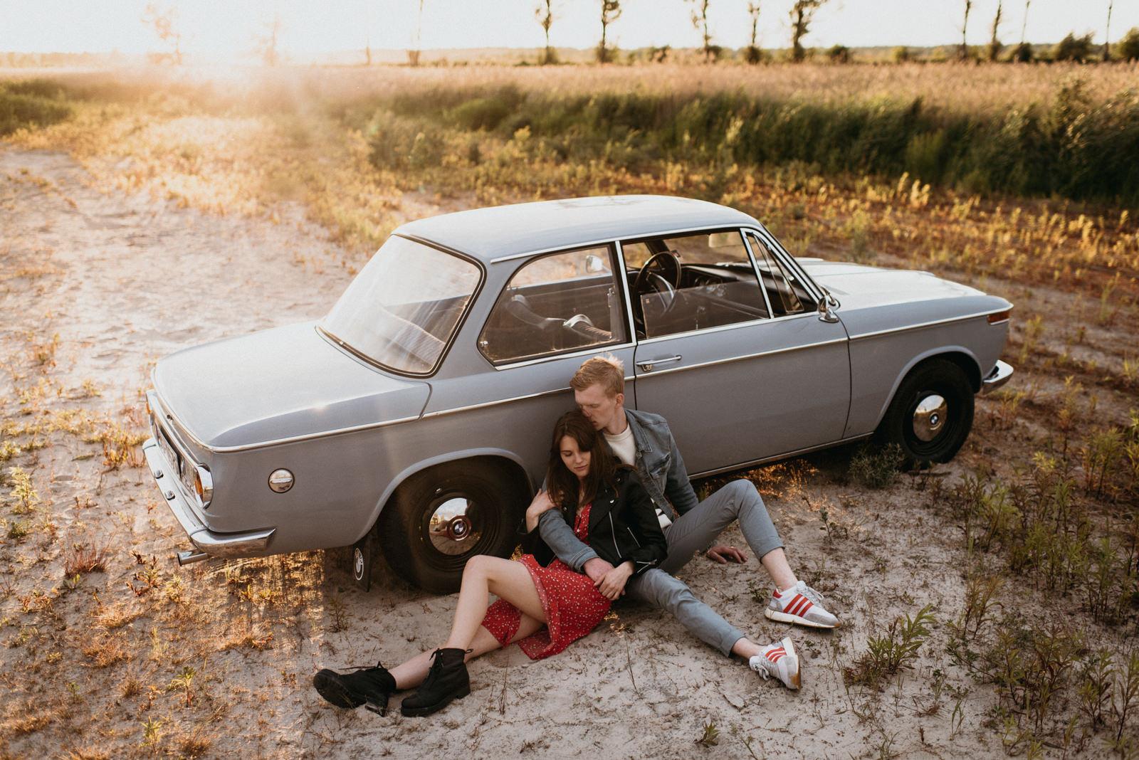 creative couple photoshoot