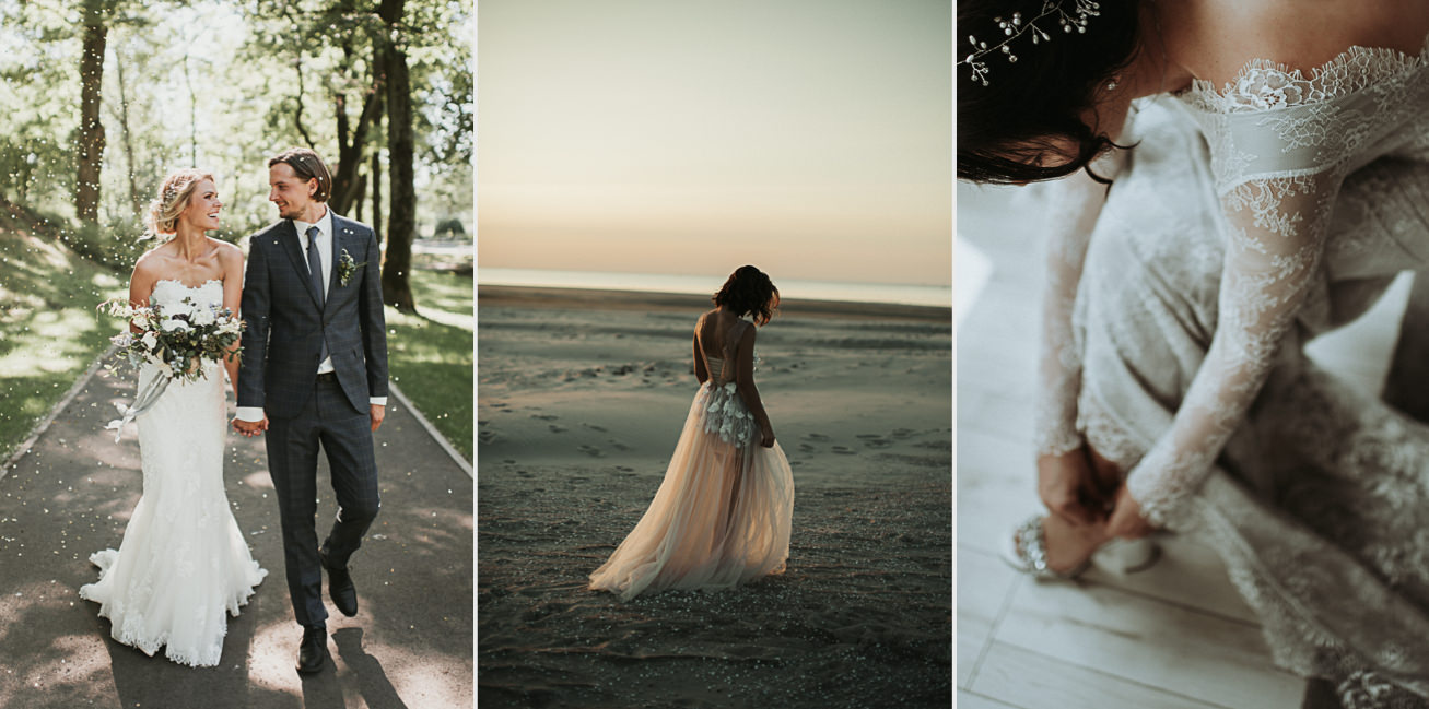 creative wedding photographer miks sels