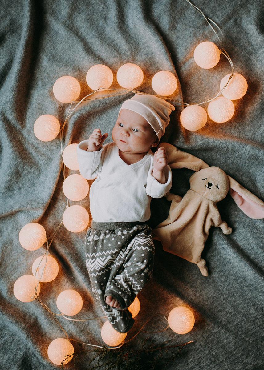 jaundzimuso mazulu fotosesija