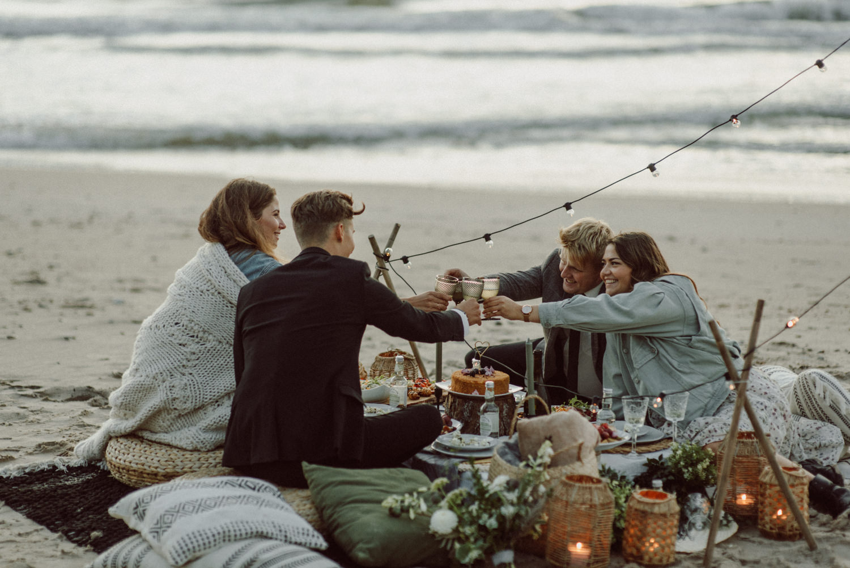 seaside micro wedding boho vibes with close friends-90