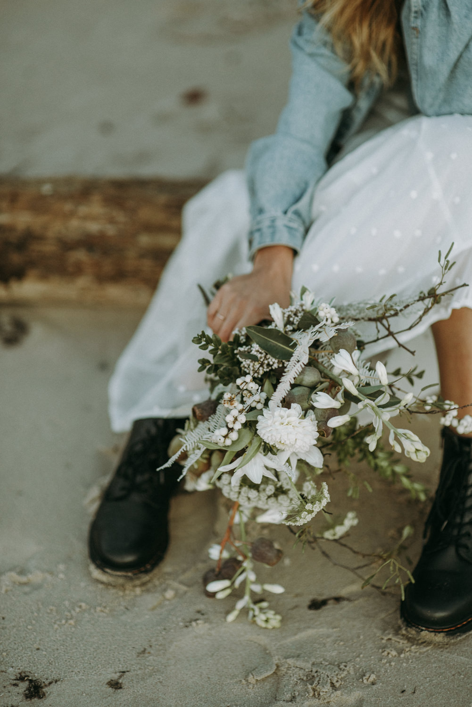 seaside micro wedding boho vibes with close friends-93