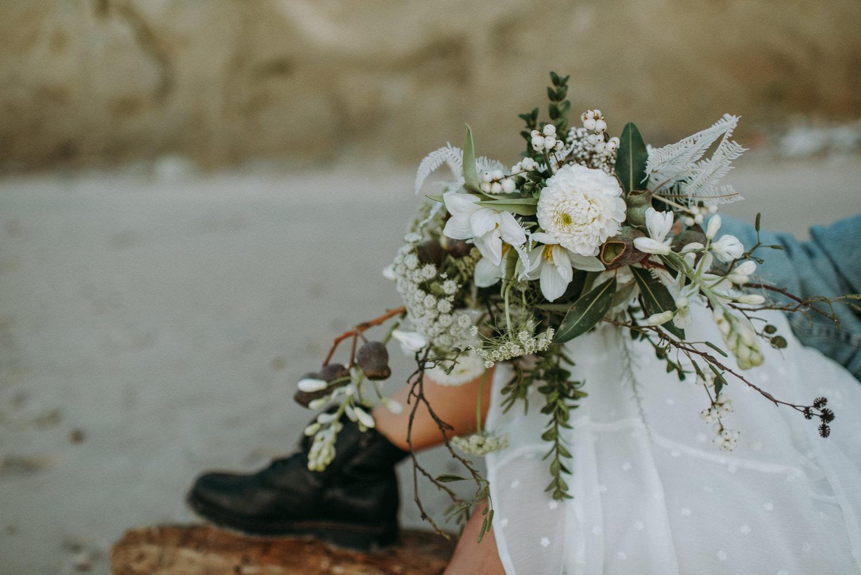 seaside micro wedding boho vibes with close friends-98